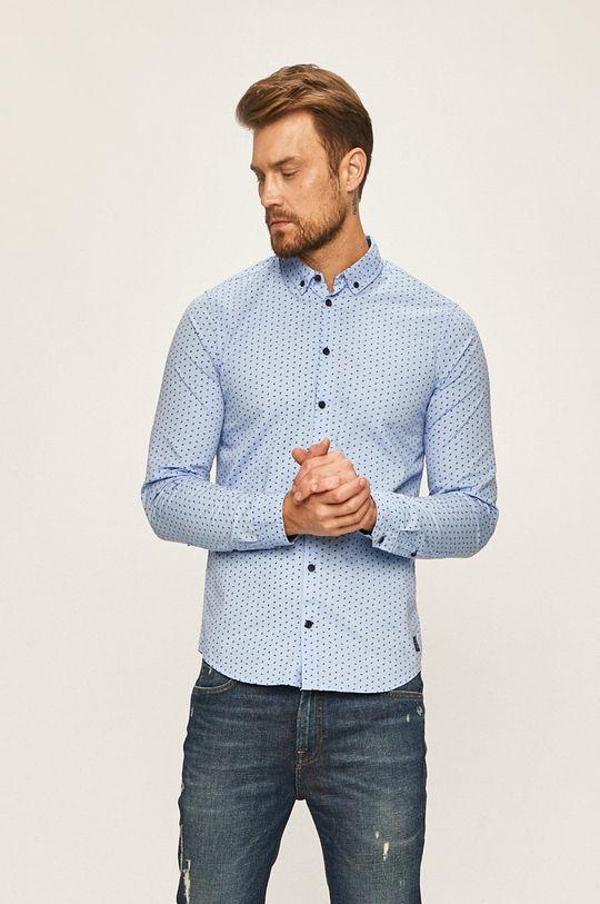 albastru Blend - Camasa De bărbați
