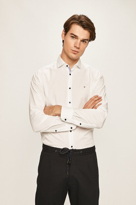 Tommy Hilfiger Tailored - Koszula biały