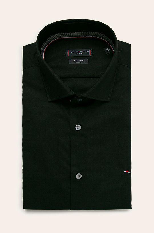 czarny Tommy Hilfiger Tailored - Koszula Męski