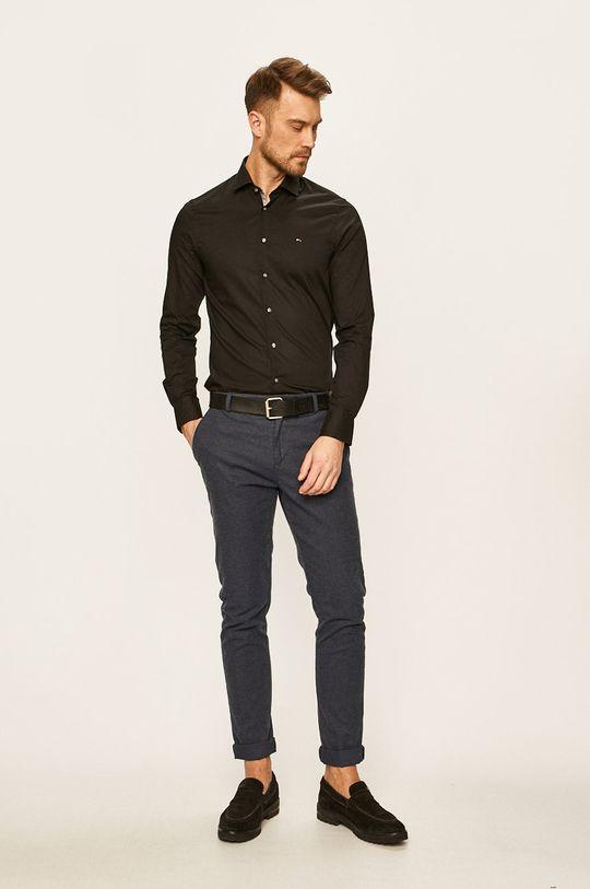 czarny Tommy Hilfiger Tailored - Koszula