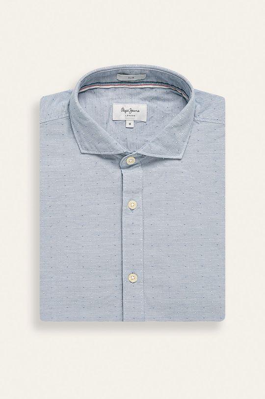 niebieski Pepe Jeans - Koszula Jake Męski