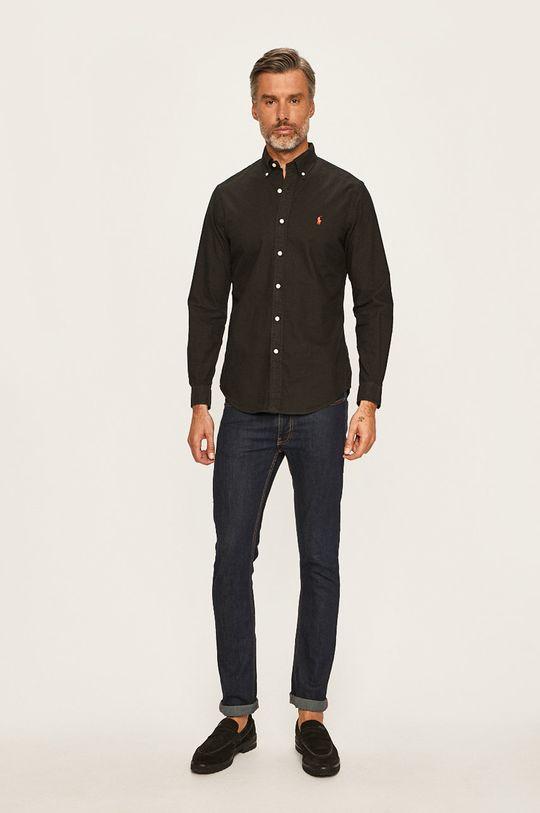 czarny Polo Ralph Lauren - Koszula