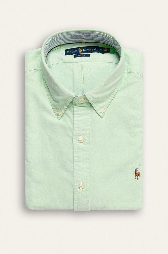 světle zelená Polo Ralph Lauren - Košile Pánský