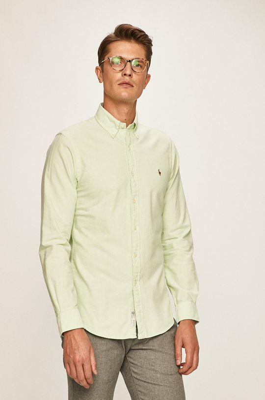 Polo Ralph Lauren - Košile světle zelená