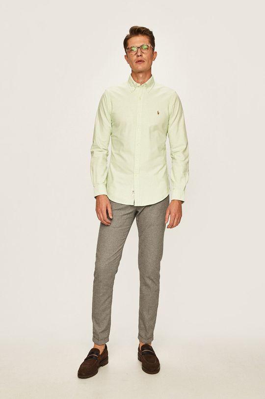 světle zelená Polo Ralph Lauren - Košile