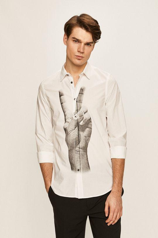 biela Desigual - Košeľa Pánsky