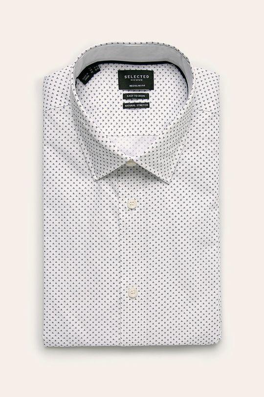 biały Selected - Koszula Męski