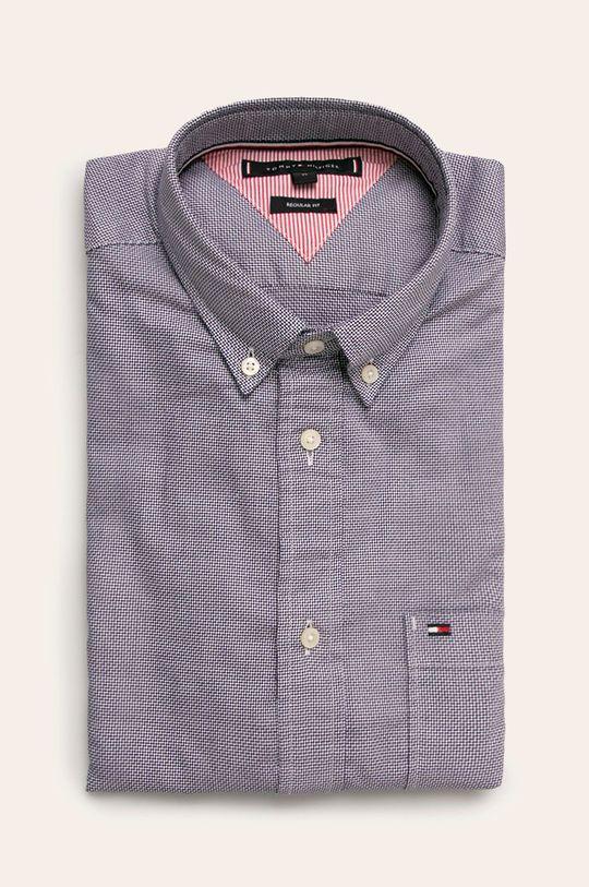 fialová Tommy Hilfiger - Košile Pánský