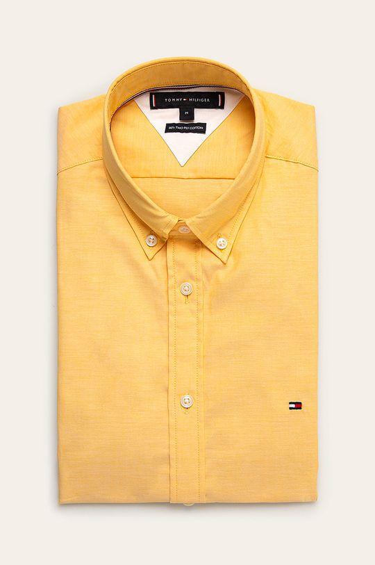 żółty Tommy Hilfiger - Koszula Męski