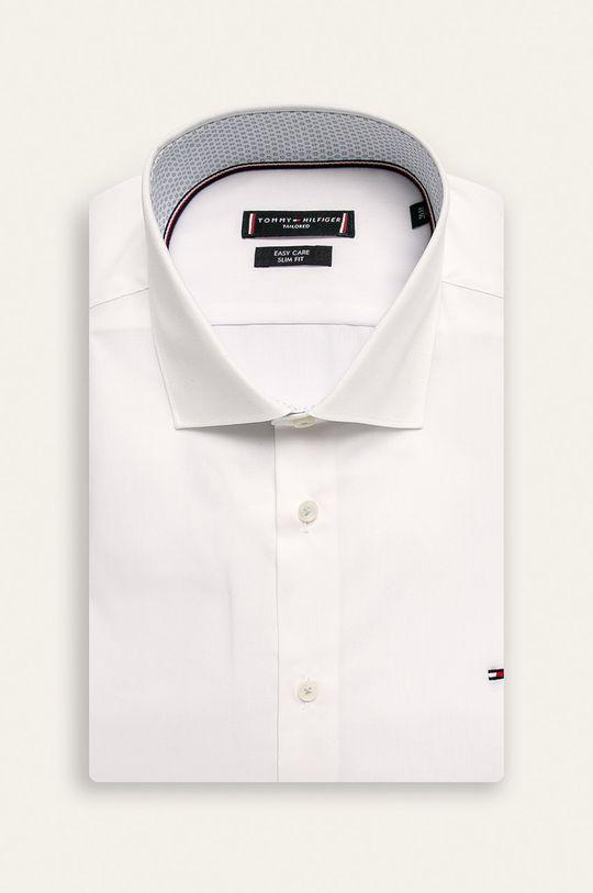 biela Tommy Hilfiger Tailored - Košeľa Pánsky