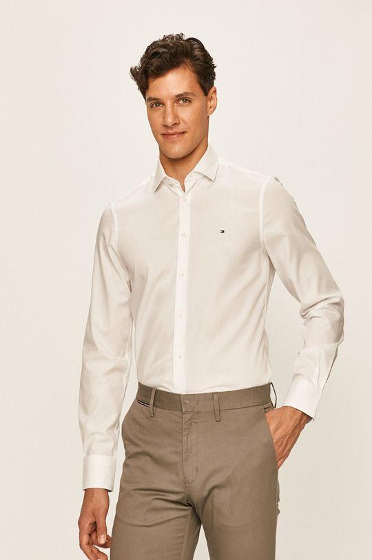 Tommy Hilfiger Tailored - Košeľa biela