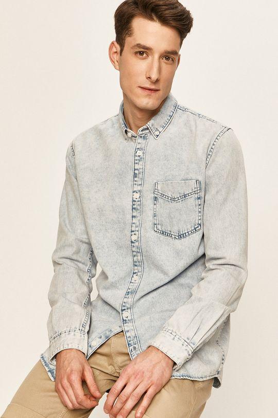 albastru deschis Tom Tailor Denim - Camasa jeans De bărbați
