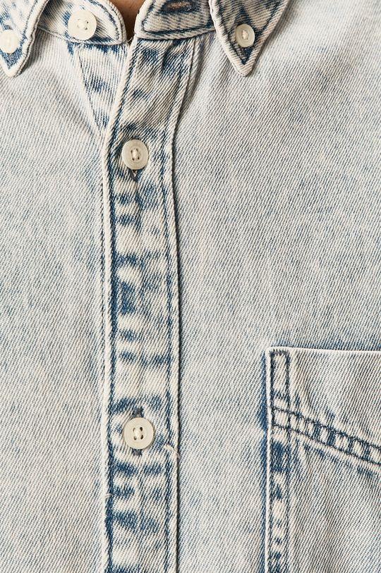 Tom Tailor Denim - Camasa jeans albastru deschis