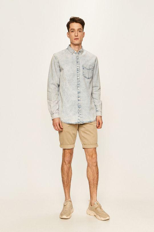 Tom Tailor Denim - Camasa jeans 100% Bumbac