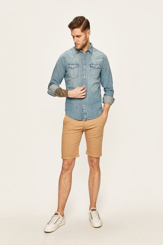 Levi's - Koszula jeansowa 100 % Bawełna