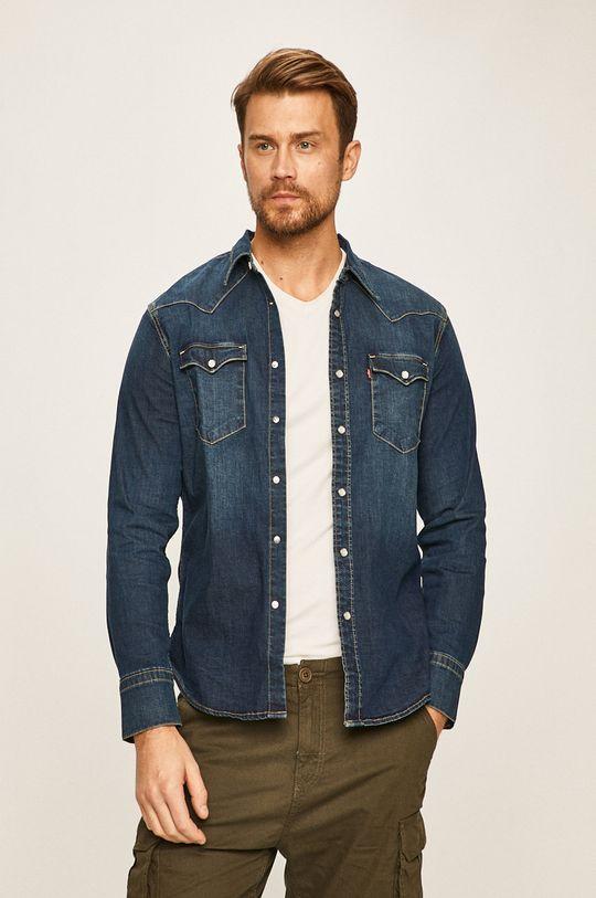niebieski Levi's - Koszula jeansowa Męski