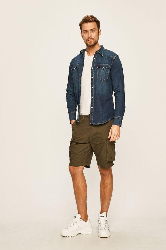 Levi's - Koszula jeansowa 81 % Bawełna, 2 % Elastan, 9 % Lyocell, 8 % Poliester