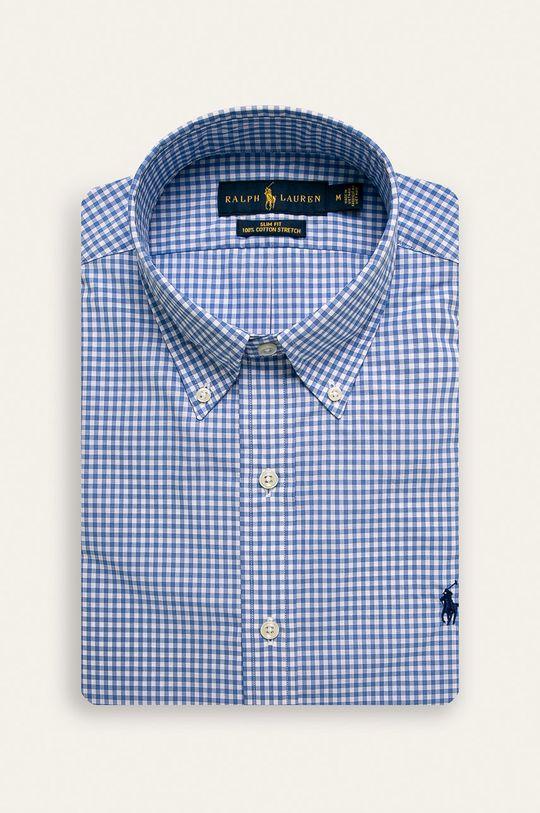 modrá Polo Ralph Lauren - Košeľa Pánsky