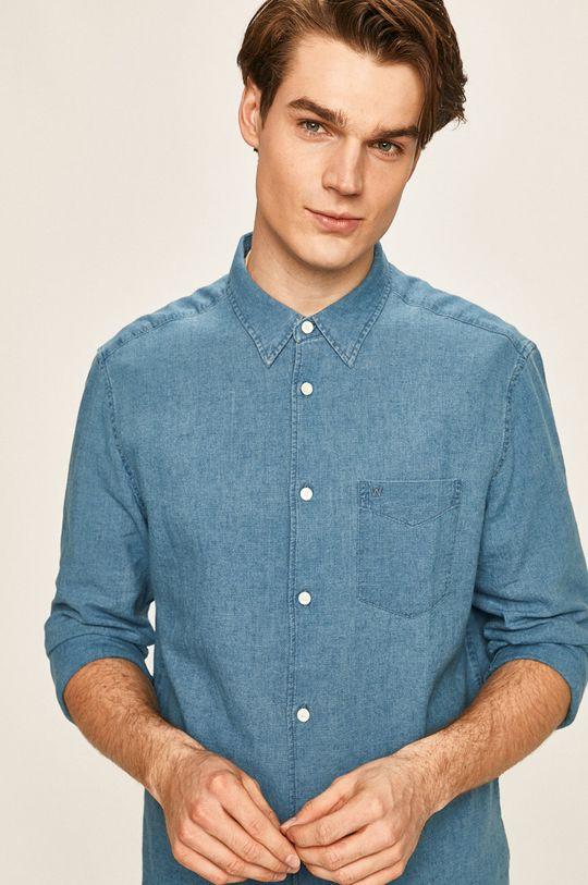 jasny niebieski Wrangler - Koszula Męski
