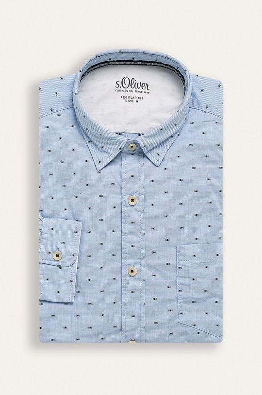 albastru s. Oliver - Camasa De bărbați
