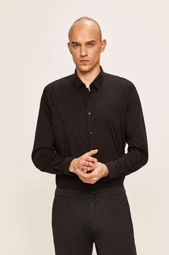 černá Pierre Cardin - Košile Pánský