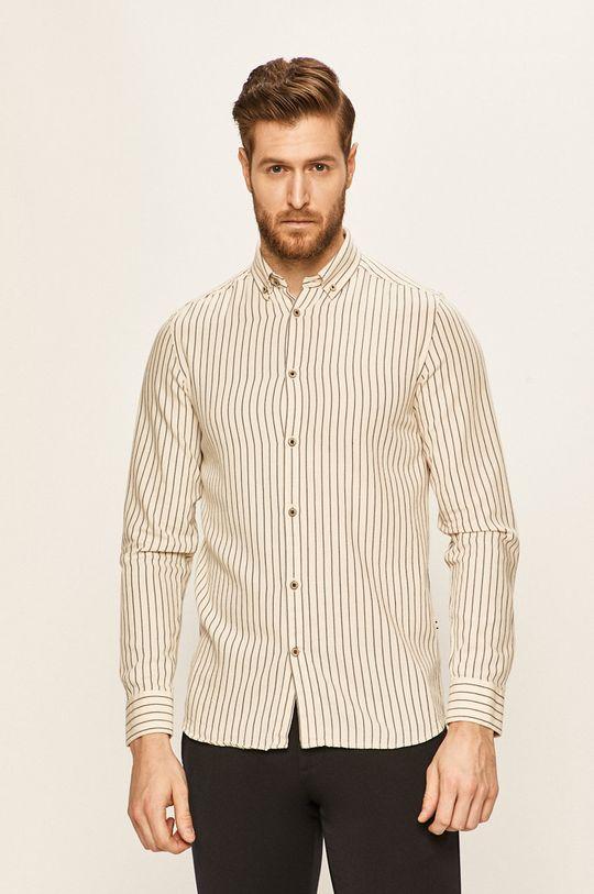 Tailored & Originals - Koszula kremowy