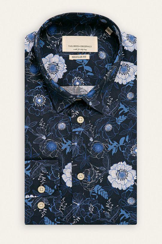 granatowy Tailored & Originals - Koszula Męski