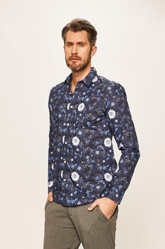 Tailored & Originals - Koszula granatowy
