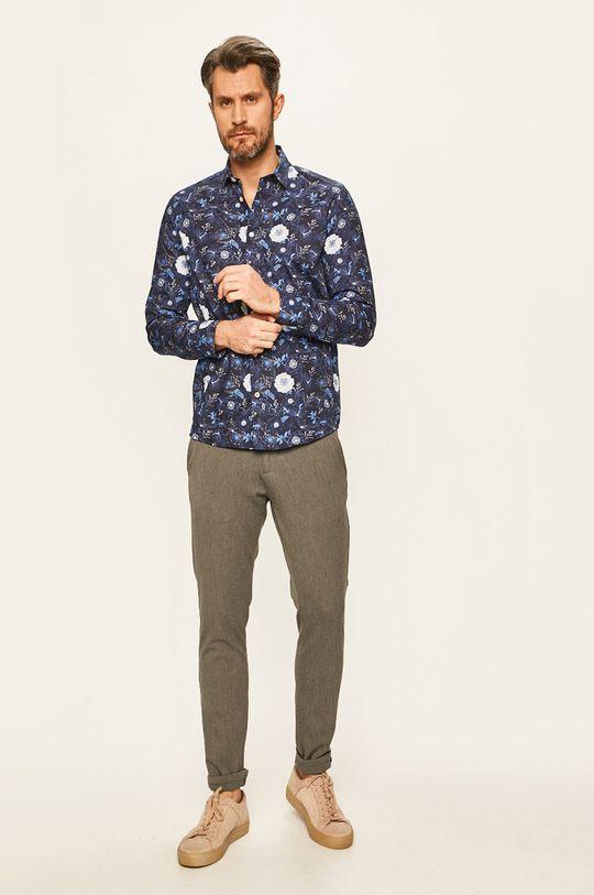 granatowy Tailored & Originals - Koszula