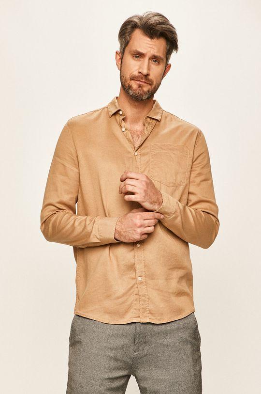 Tailored & Originals - Риза пясъчен