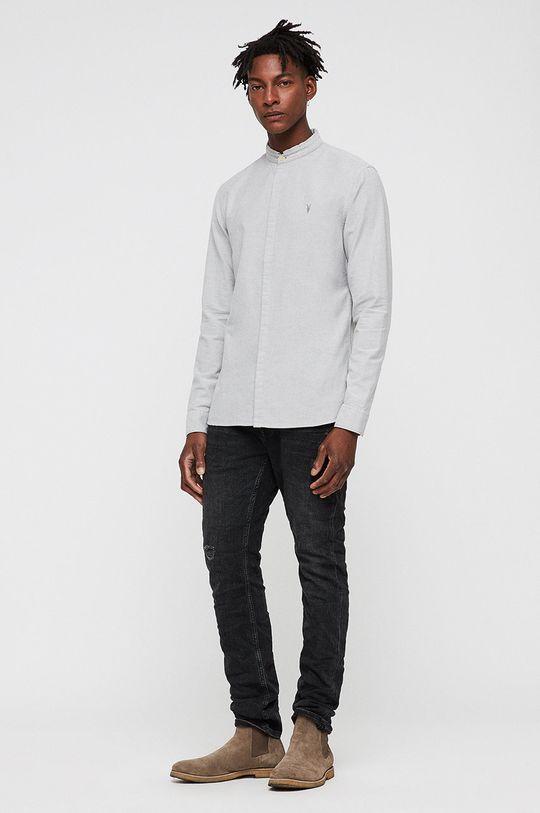 AllSaints - Košile Augusta bílá