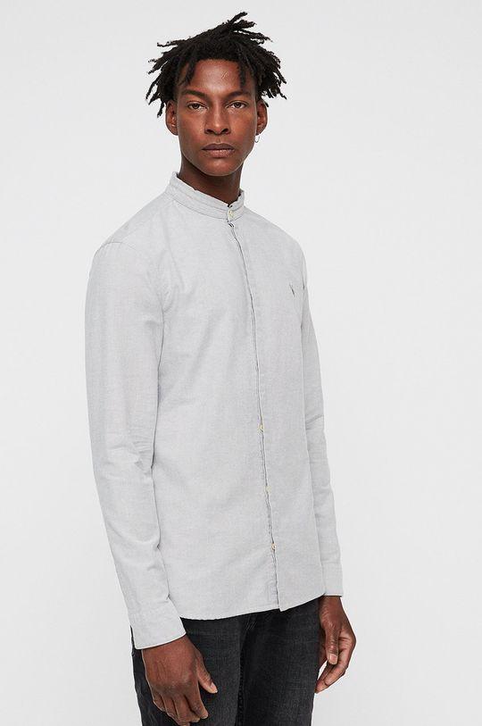 bílá AllSaints - Košile Augusta