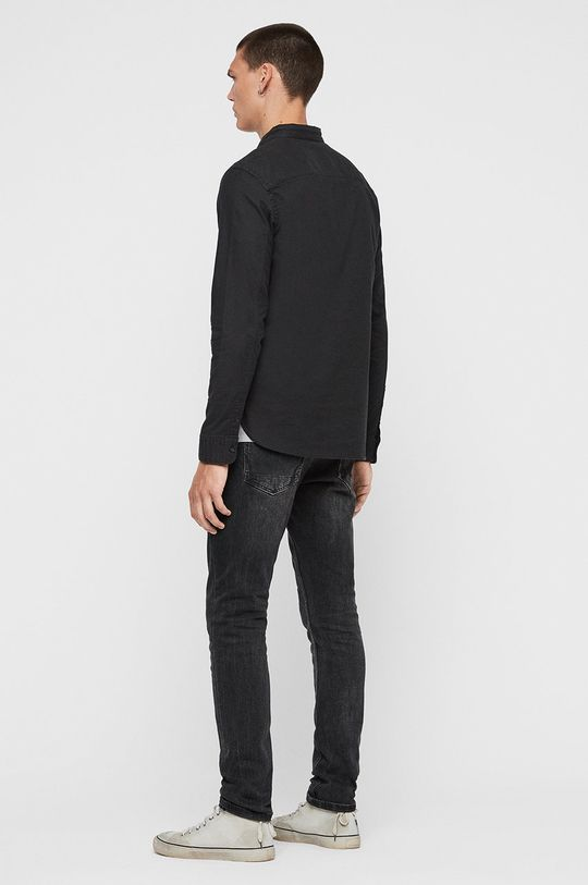 AllSaints - Košile Augusta  100% Bavlna