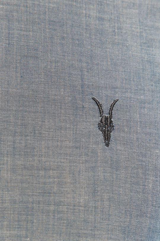 AllSaints - Koszula Irvine niebieski