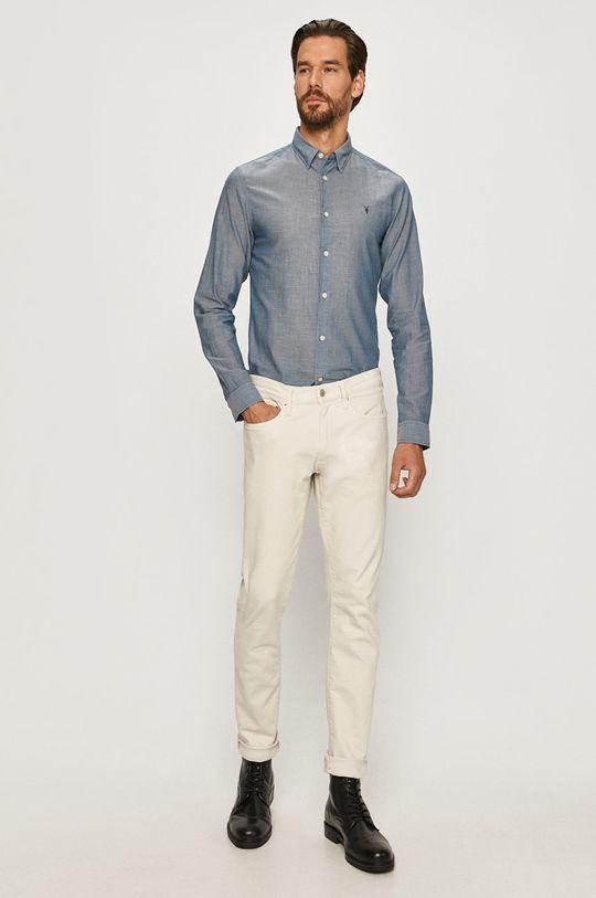 AllSaints - Koszula Irvine 100 % Bawełna