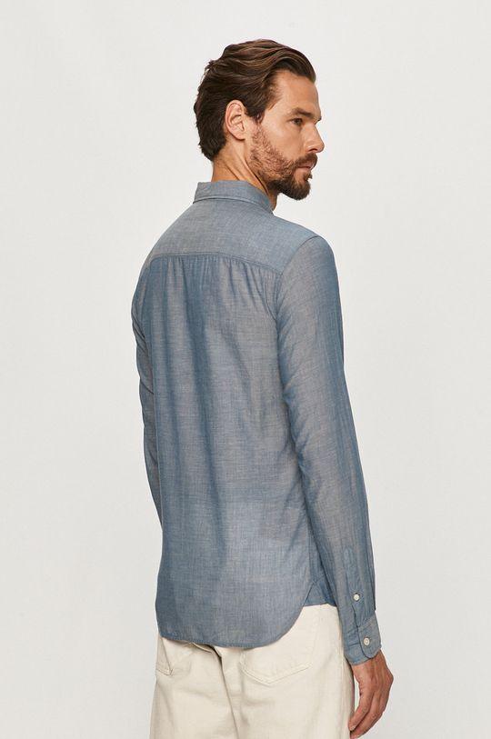 niebieski AllSaints - Koszula Irvine