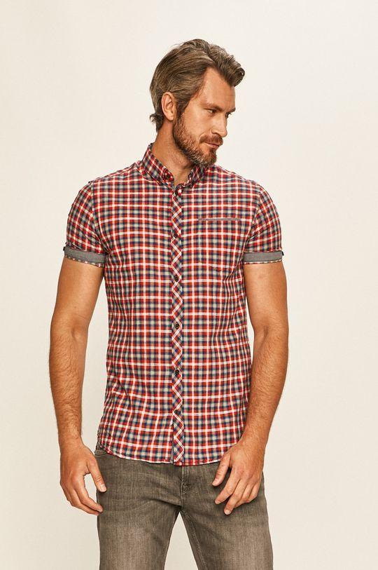 červená Tom Tailor Denim - Košile Pánský