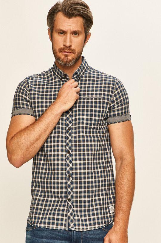 modrá Tom Tailor Denim - Košile Pánský