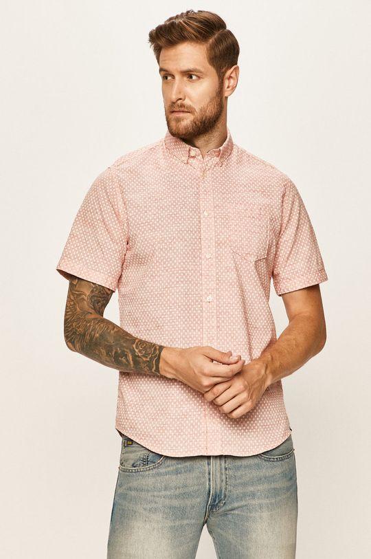 oranžová Tom Tailor Denim - Košile Pánský