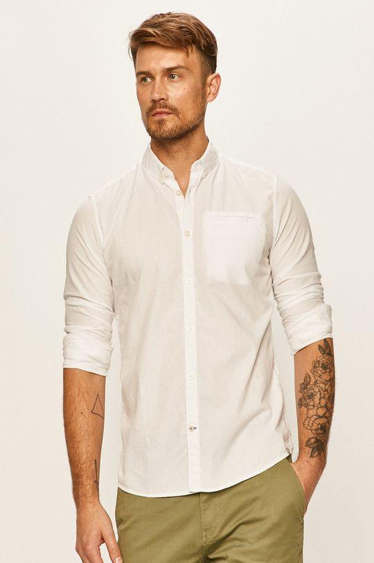 bílá Tom Tailor Denim - Košile Pánský