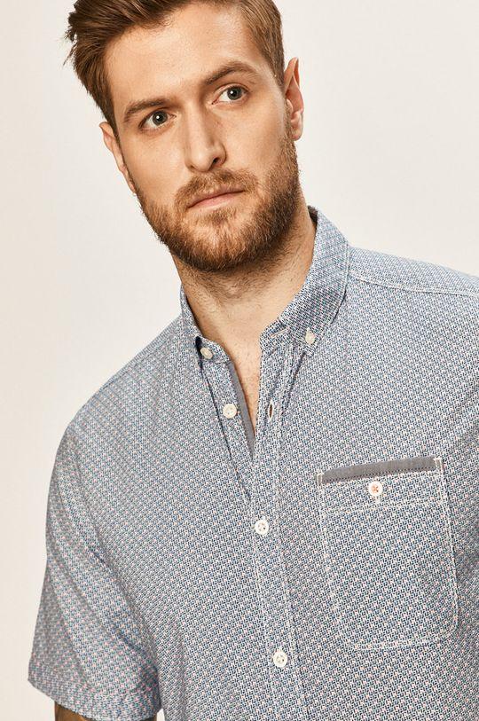 modrá Tom Tailor Denim - Košeľa Pánsky