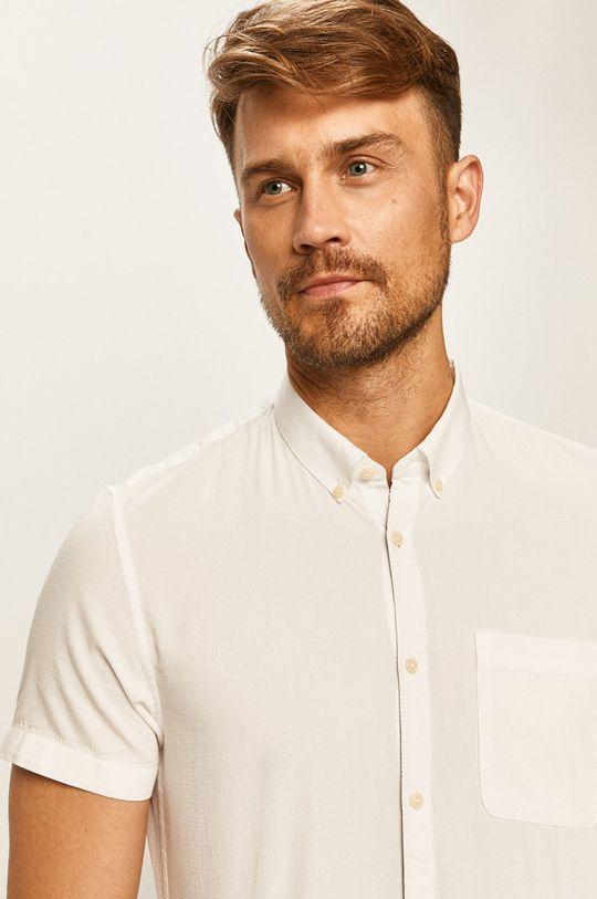 biały Tom Tailor Denim - Koszula Męski