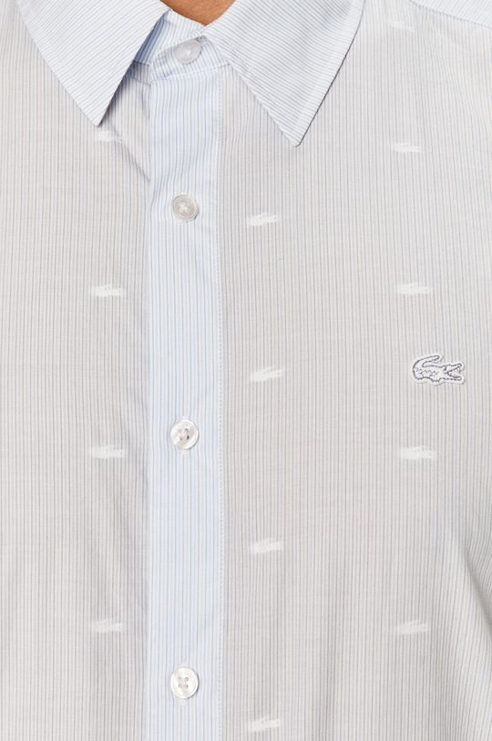 Lacoste - Košeľa bledomodrá