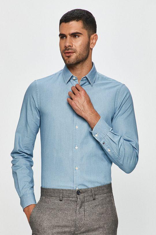Tommy Hilfiger Tailored - Koszula bawełniana niebieski