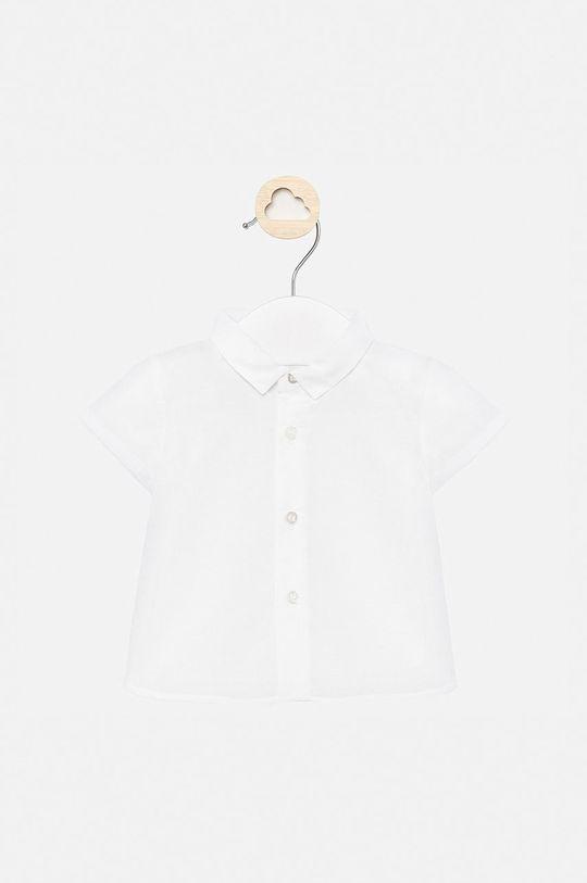 biały Mayoral - Koszula dziecięca 60-86 cm Chłopięcy