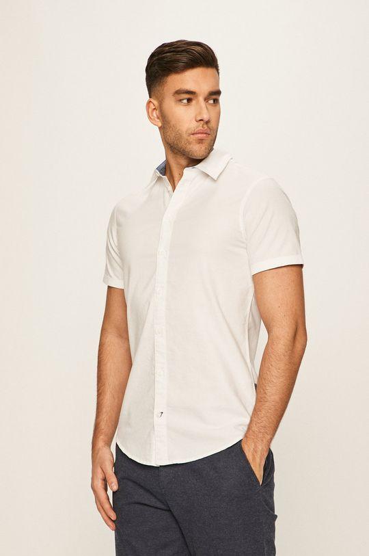 biały Blend - Koszula Męski