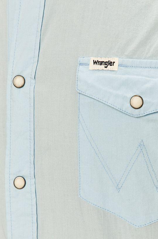 Wrangler - Košeľa bledomodrá