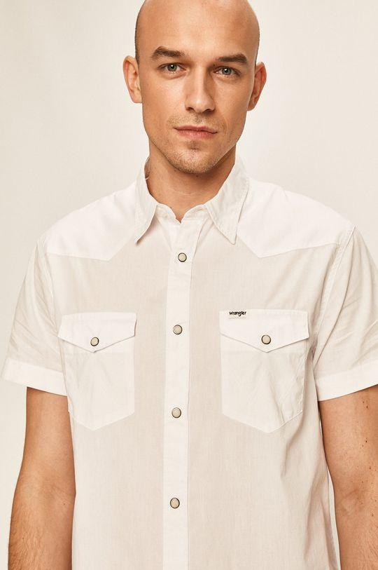 biały Wrangler - Koszula Męski