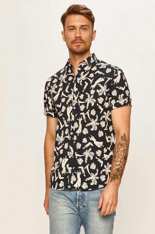 námořnická modř Tailored & Originals - Košile Pánský
