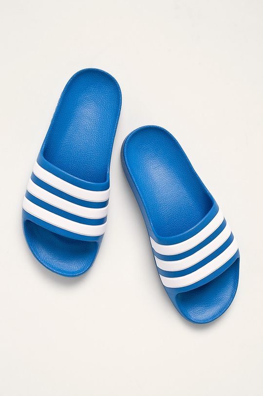 modrá adidas - Pantofle